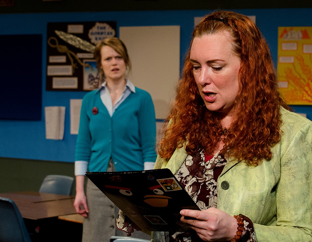 Heather Hawkins and Rebecca Olson in Gidion's Knot