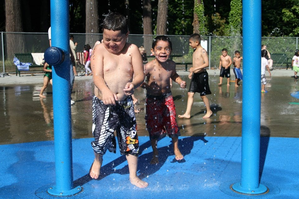 Forest Park spray park. Photo credit: Sandra Lamb