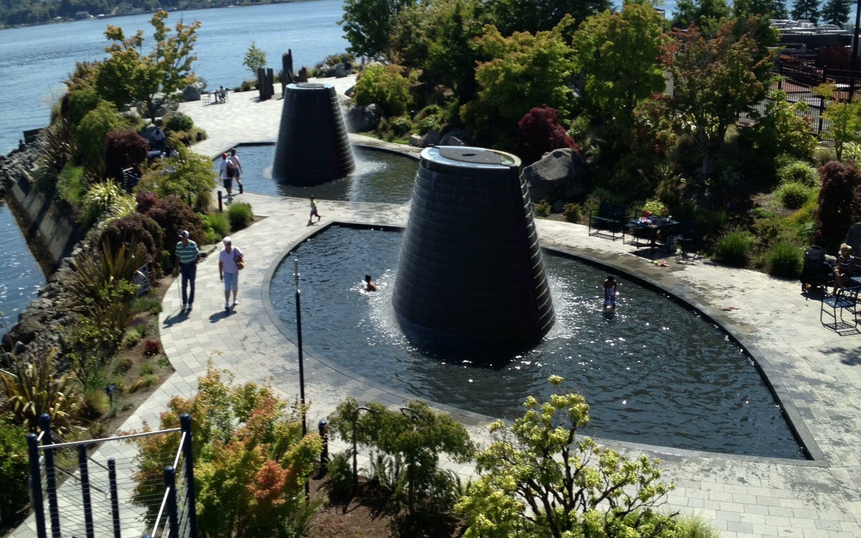 Super Spray Parks And Fountains Around Seattle The