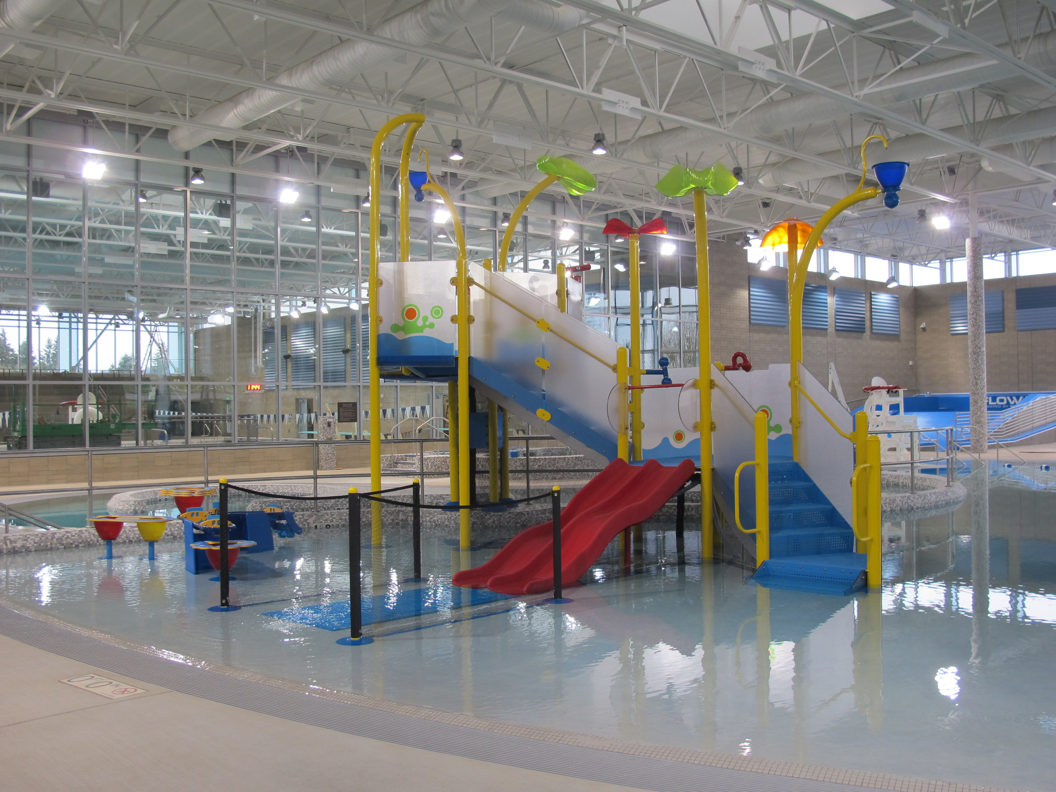 Indoor pool with waterslide  Swimming in Seattle: Insider's Guide to Kid-Friendly Indoor ...