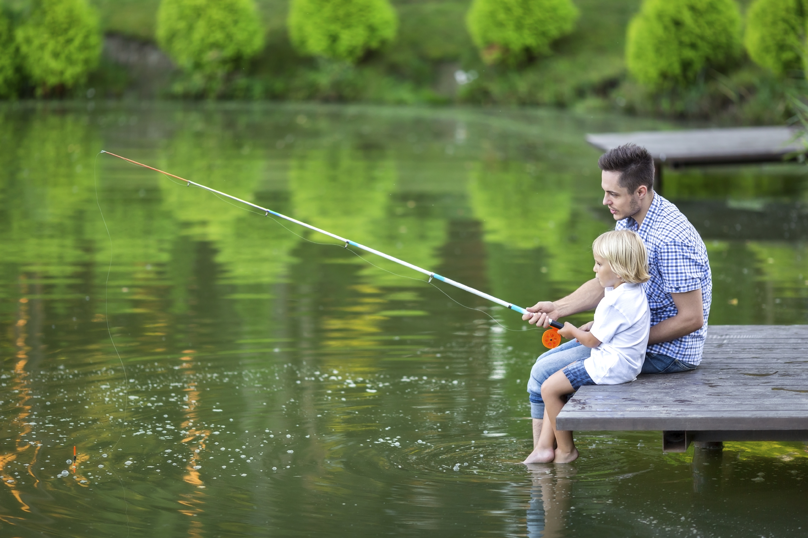 Go fish 11 spots to try fishing around seattle parentmap for Father son fishing