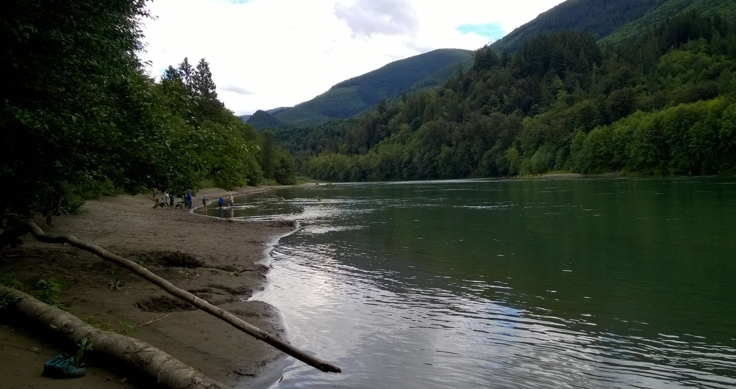Skagit River by Rasar State Park. Photo credit: Kimberly Larson