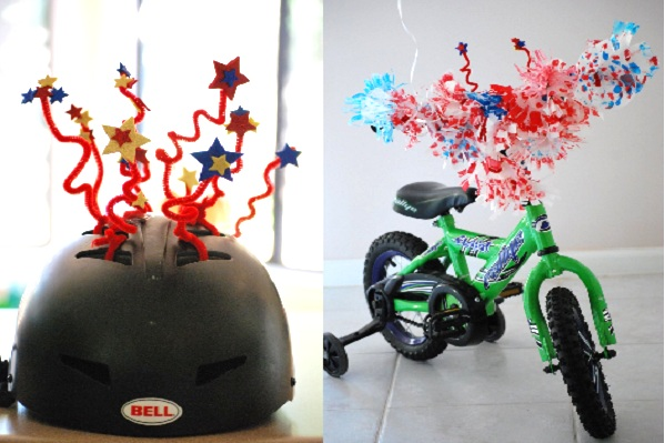 Bikes away 8 parade ready ideas for the fourth of july for Bike decorating ideas