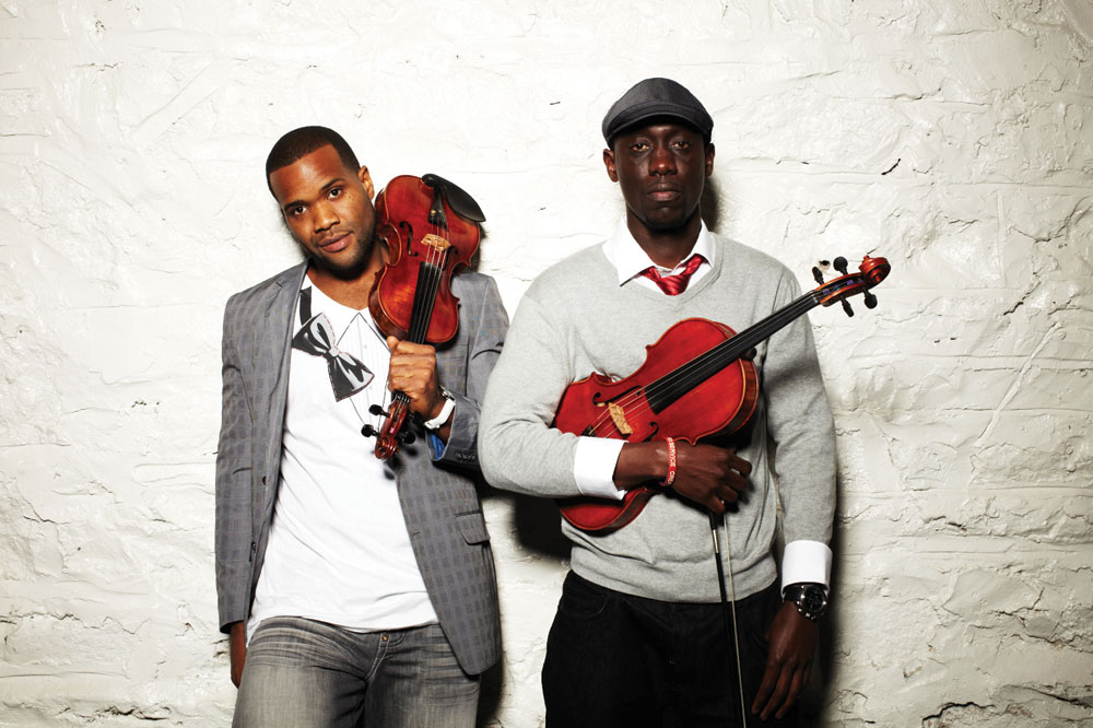 Black Violin. Photo credit: Carolin Brennan