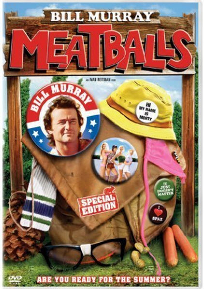 summer camp movies for kids and families meatballs with bill murray