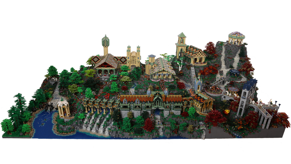 Amazing LEGO creations by Alice Finch - All of Rivendell