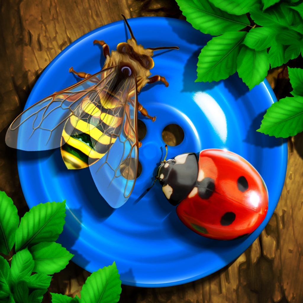 bugs and buttons ipad app