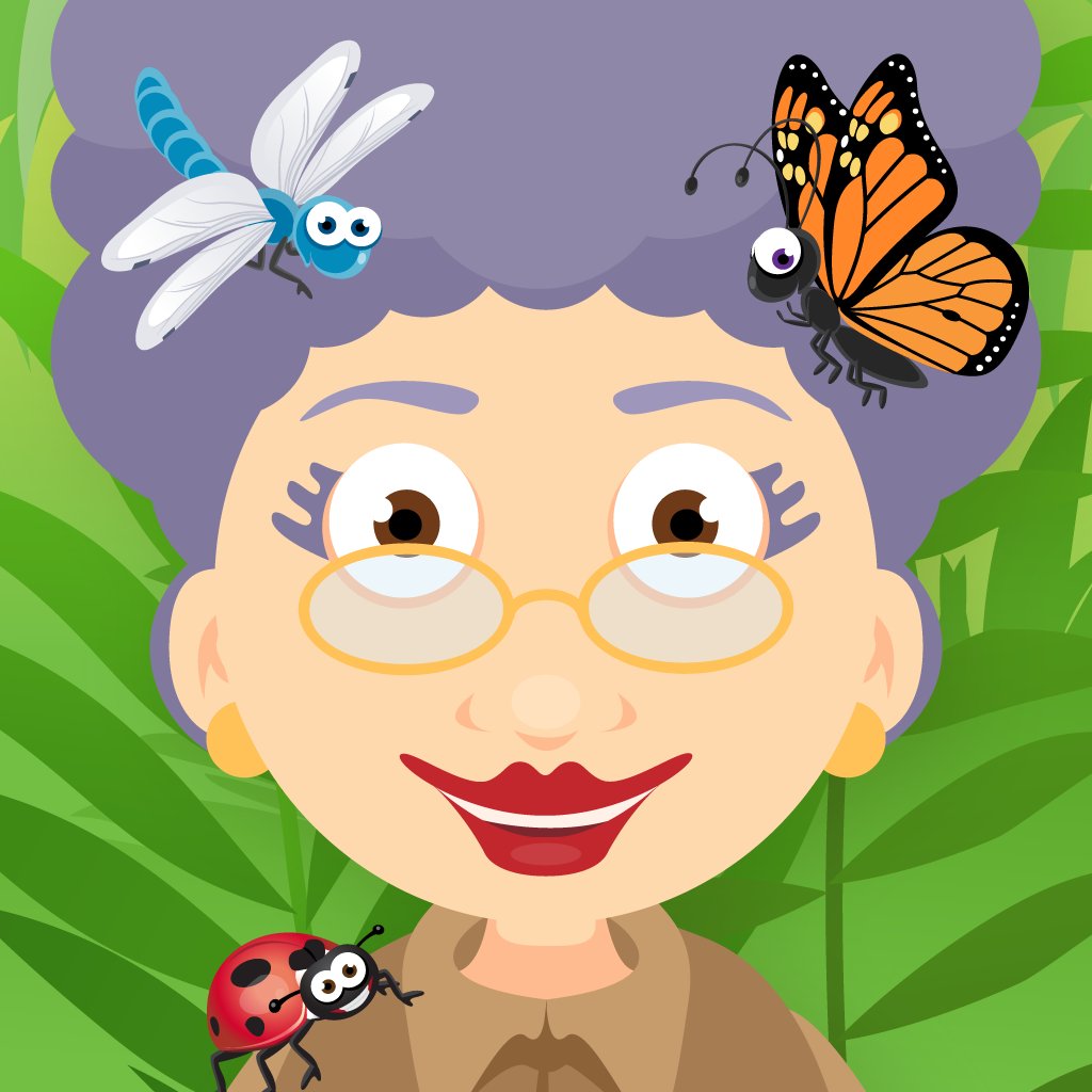 grandma loves bugs ipad app