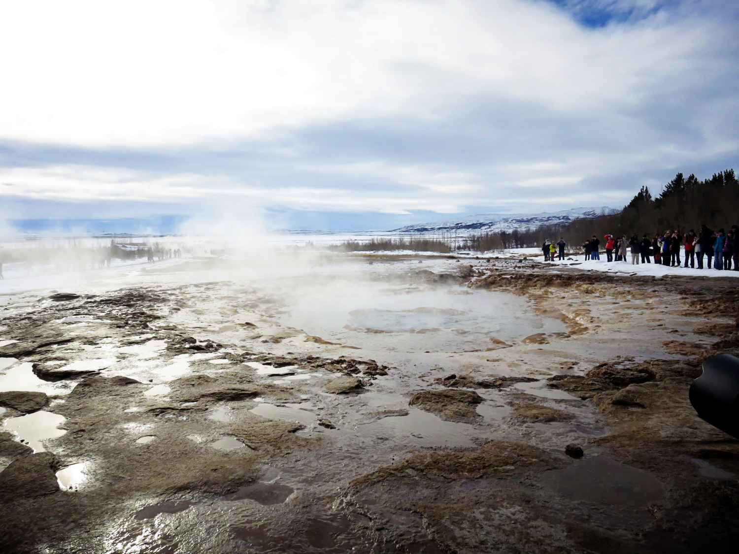 Geysir Iceland with Kids