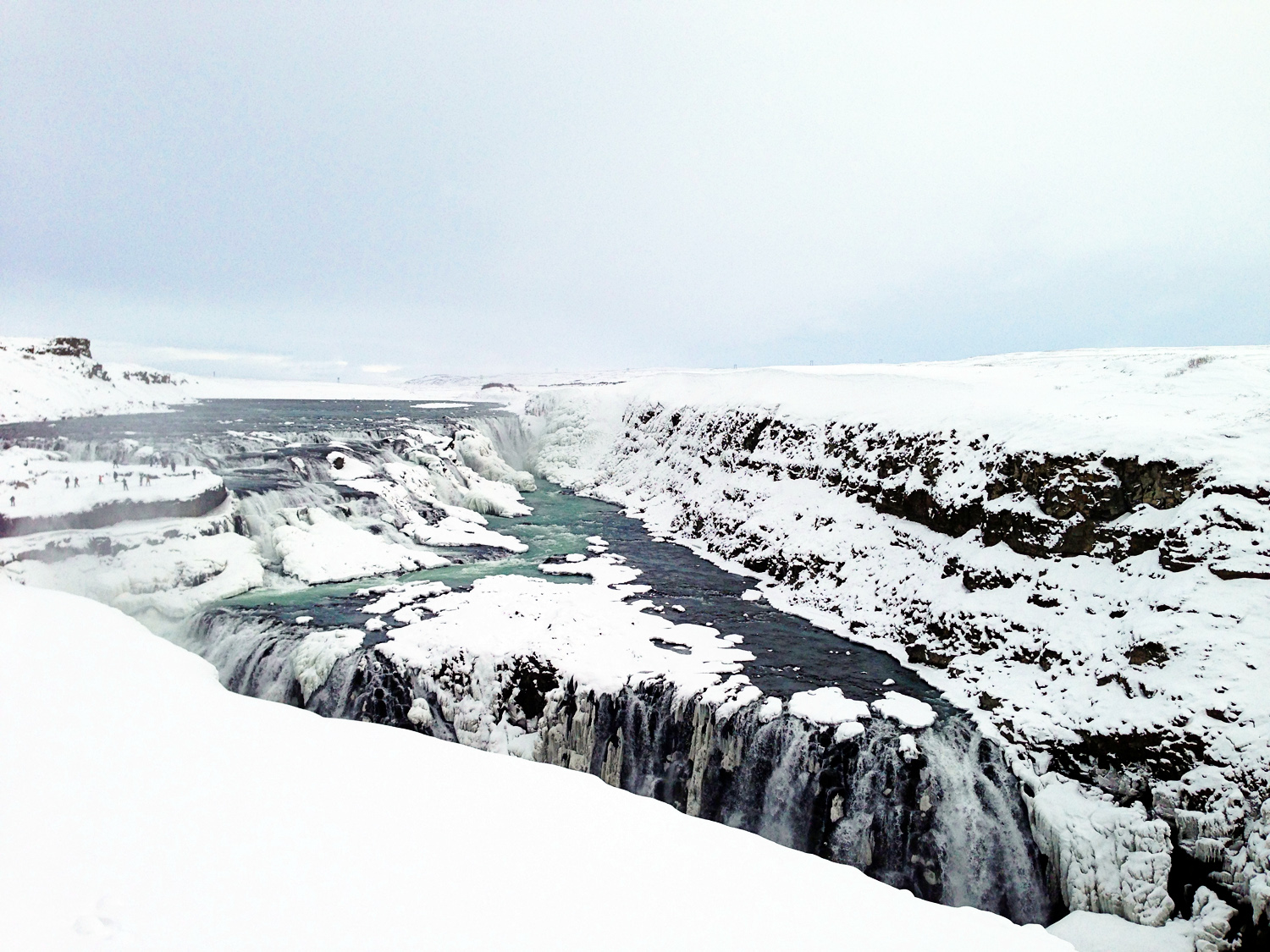 Gullfoss Iceland with Kids