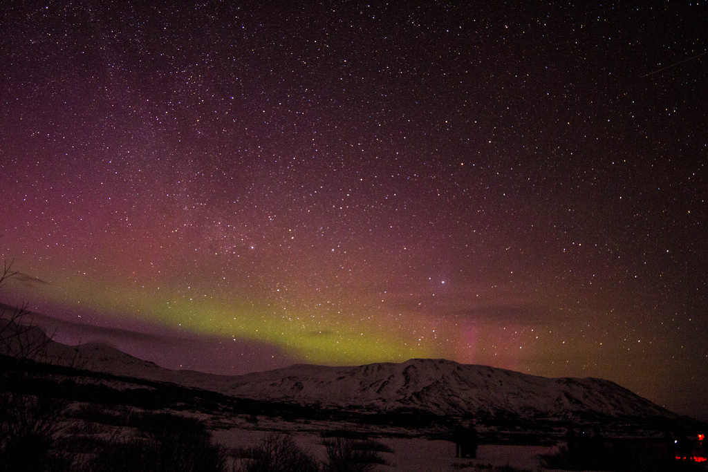 aurora borealis over iceland from erwin bernal on flickr
