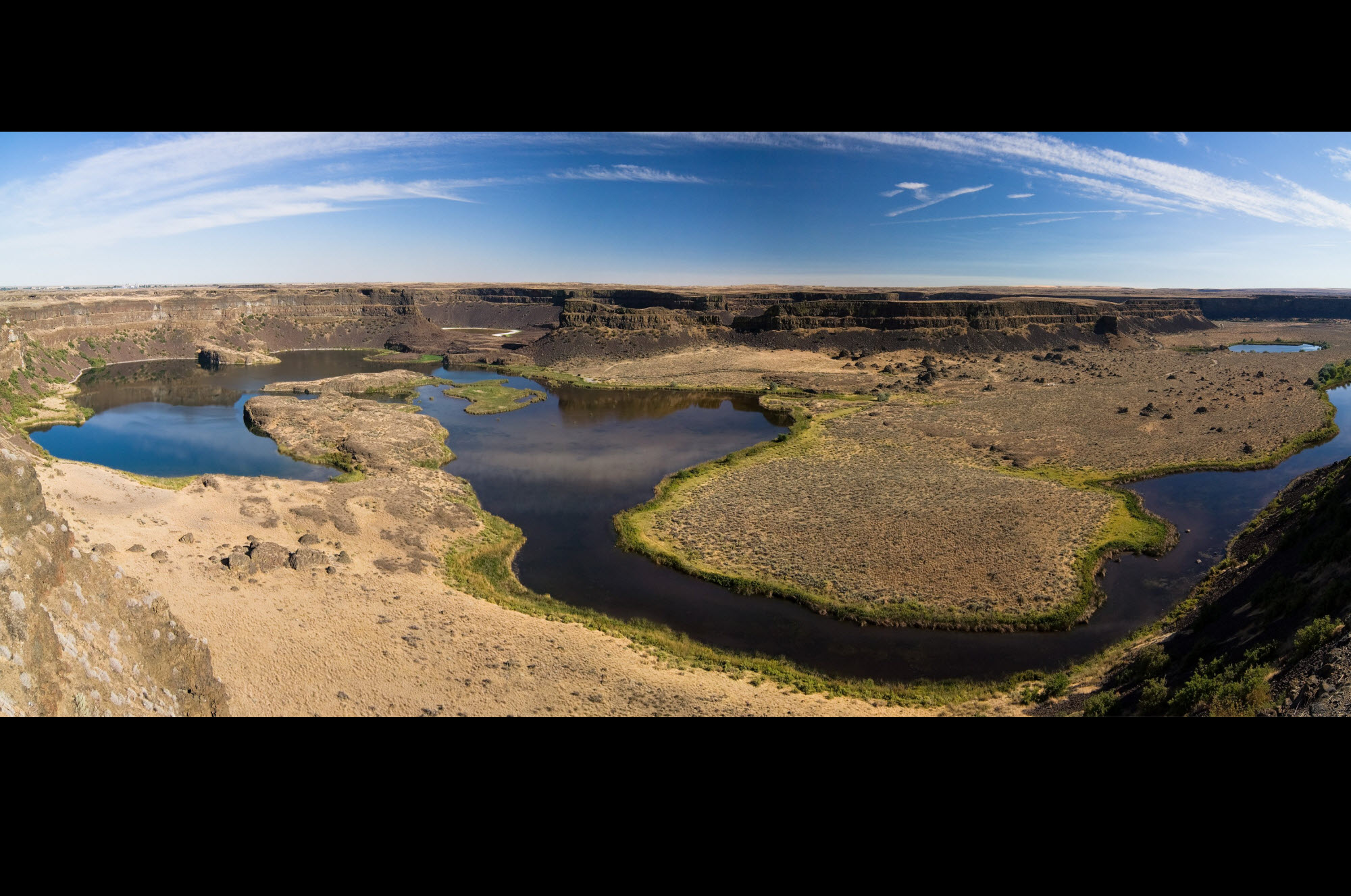 Dry Falls in Washington Coulee City