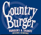 country burger sign