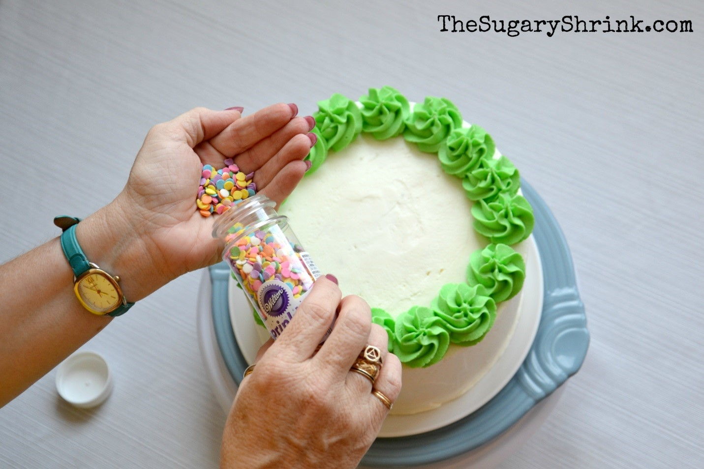 What Piping Tip To Use For Outlines Of A Cake