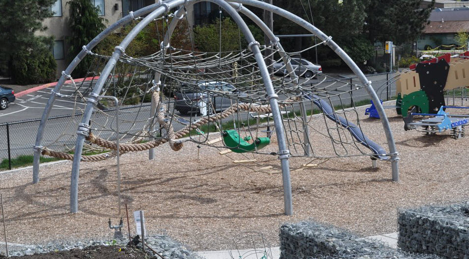 Bitter Lake reservoir park