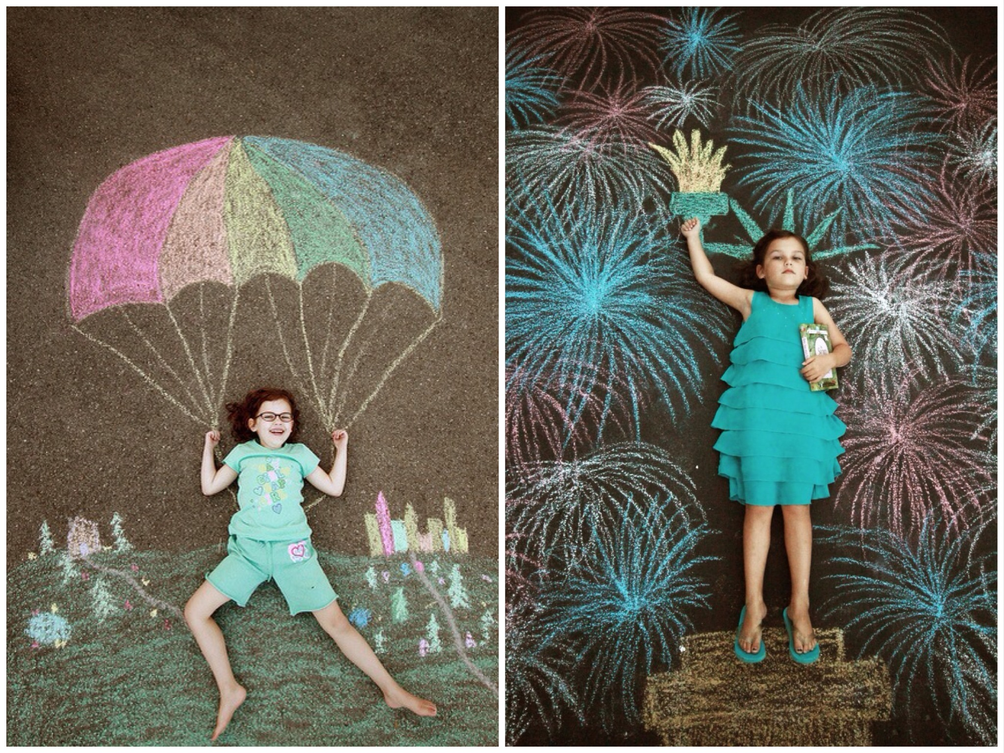 Design Your Own Dream Home Games Get Creative Sidewalk Chalk And Paint Art Projects Kids
