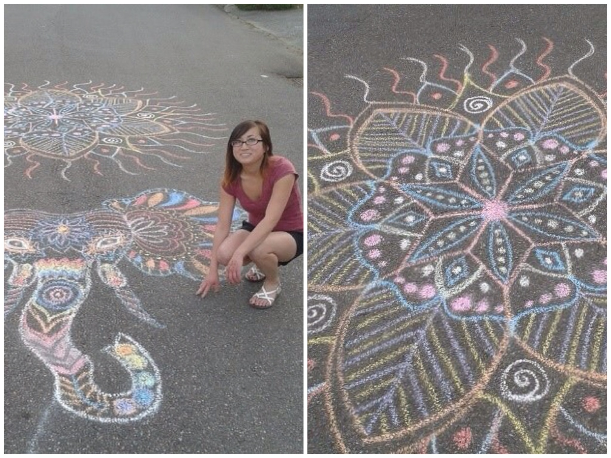 Get Creative: Sidewalk Chalk and Paint Art Projects Kids Will Love ...