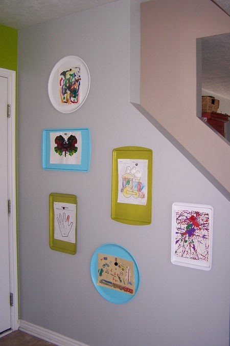12 Creative Ways To Display And Preserve Kids Artwork