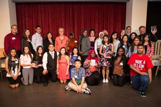 2014 Youth Civic Education Award winners