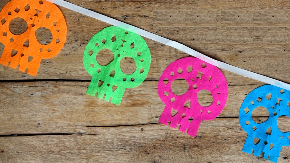 9 ways to celebrate day of the dead with kids parentmap the spirits of the dead to earth make a long lasting memory by creating tissue paper marigolds using the directions in this post by teach kids art mightylinksfo