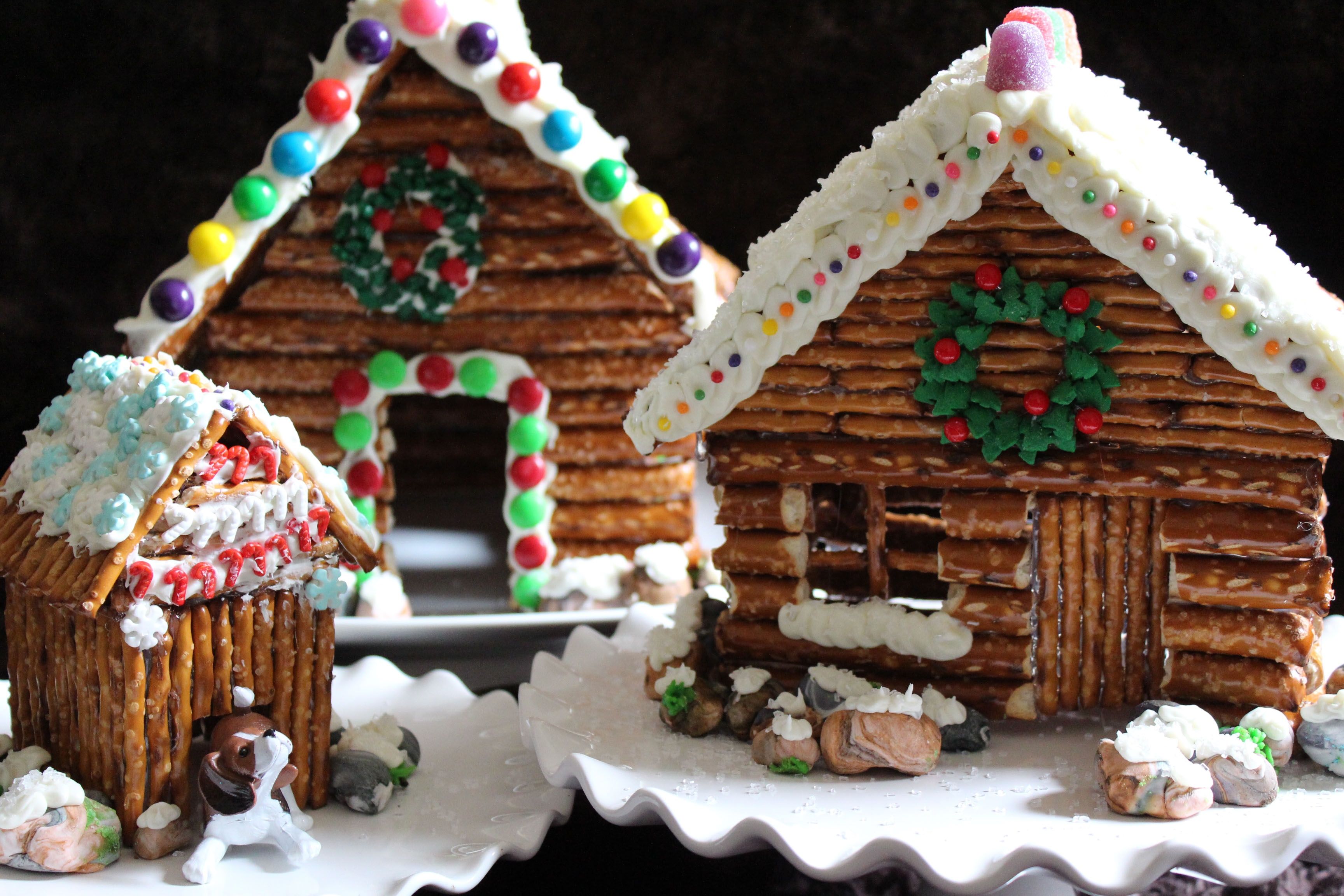 Gingerbread house ideas for contest giveaways