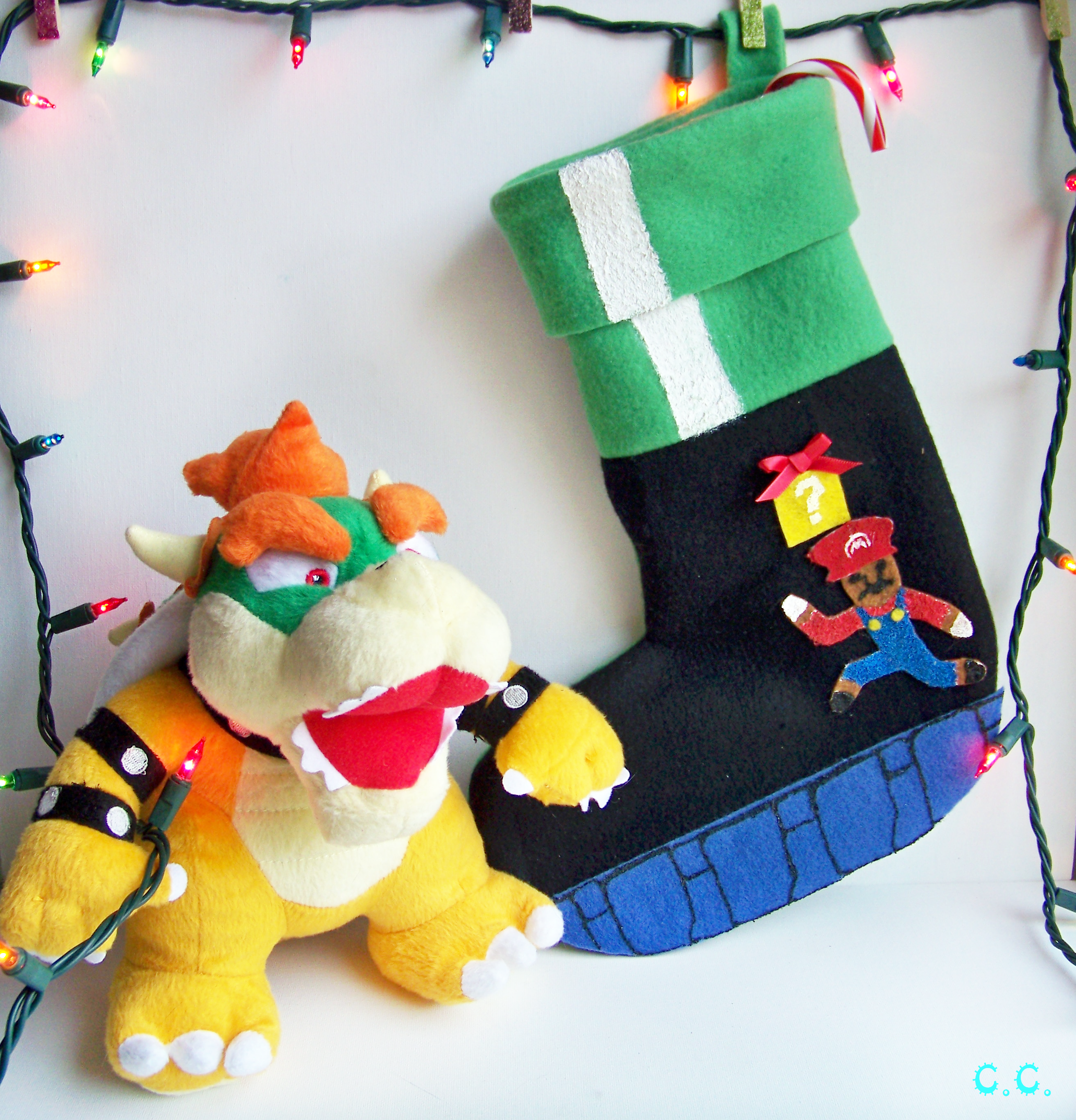 photo credit the cwafty blog - Christmas Stocking Design Ideas