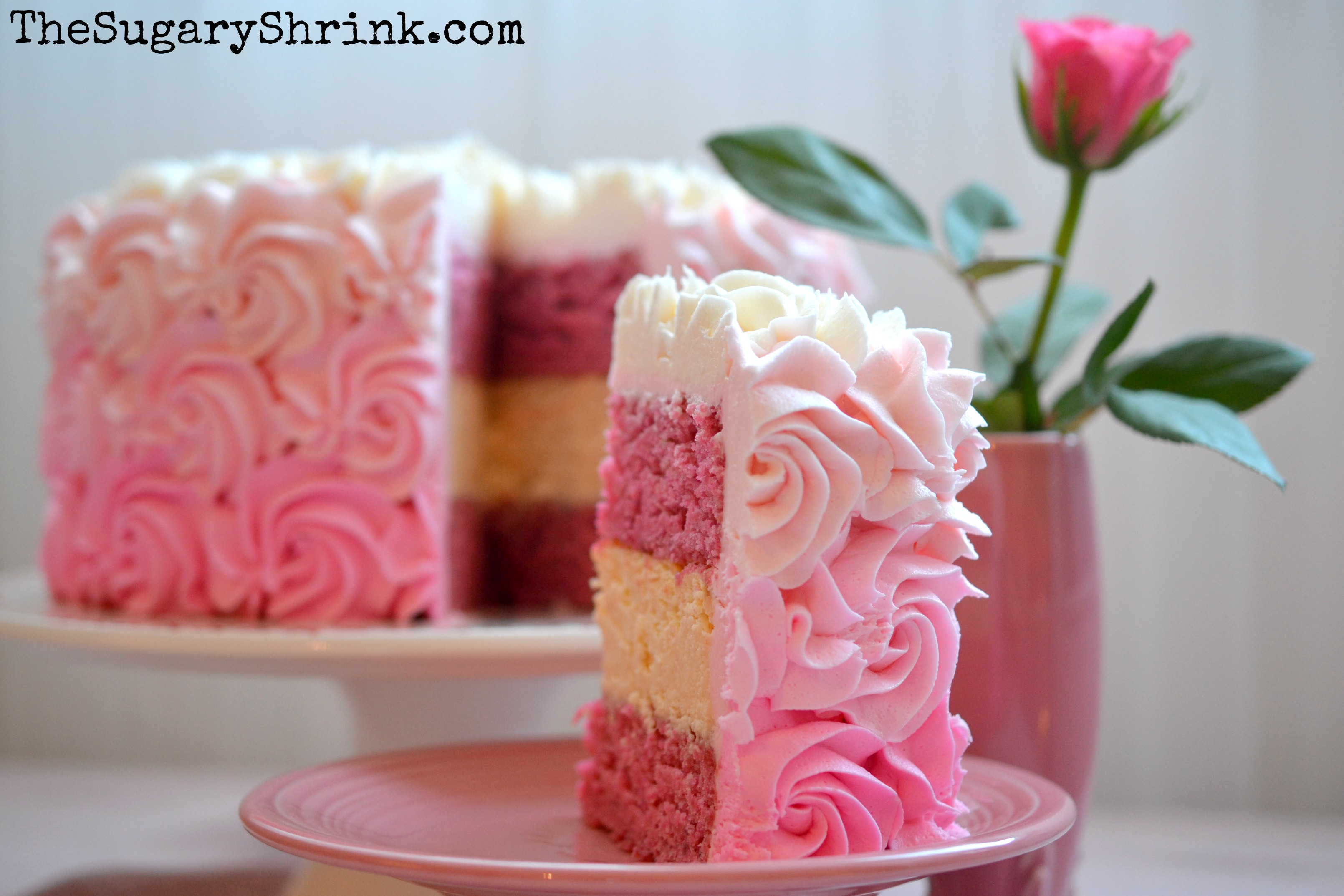 Fullers Strawberry Cake