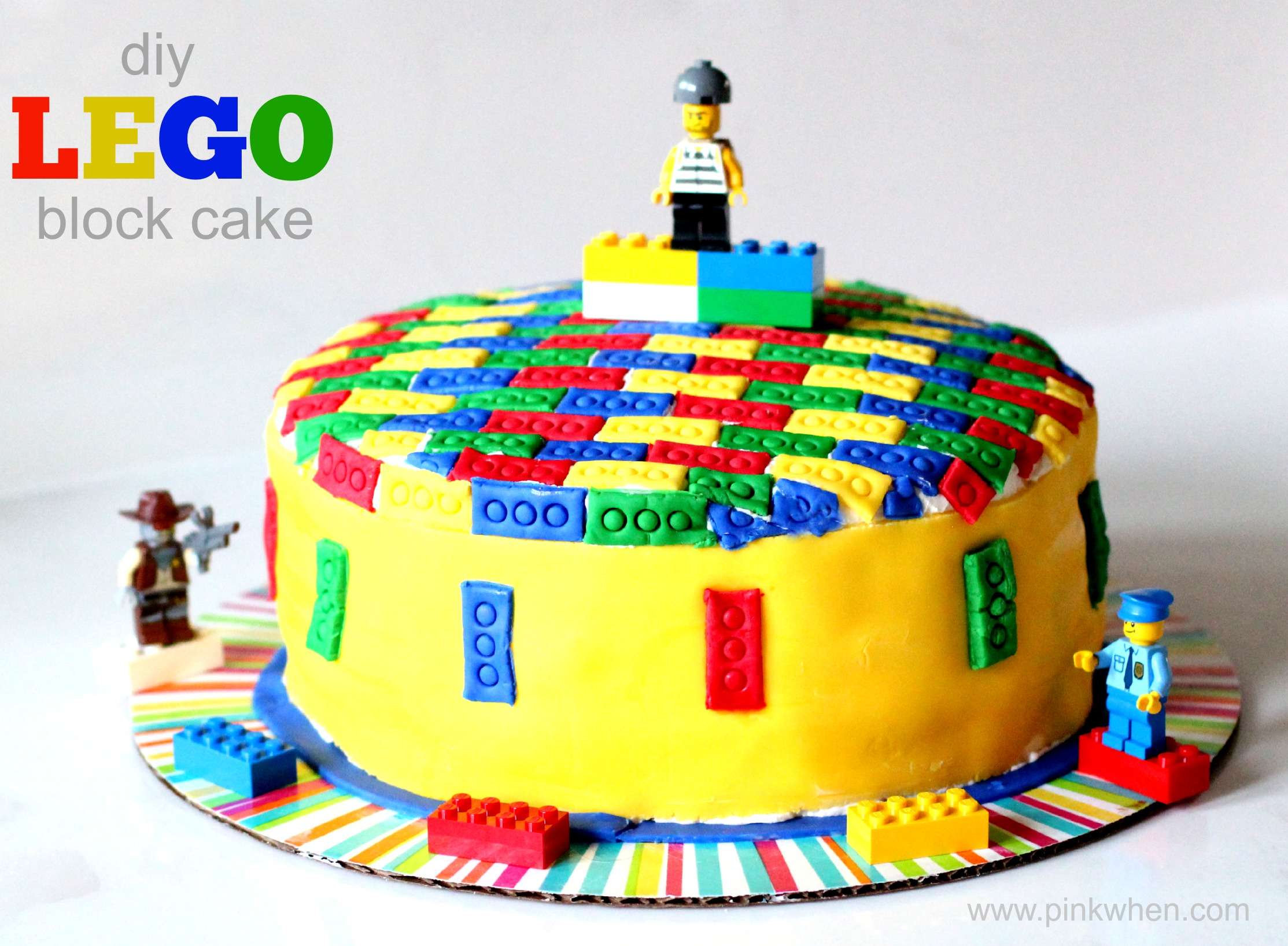 Easy Birthday Cake Ideas For Kids ParentMap - Colorful diy kids cakes