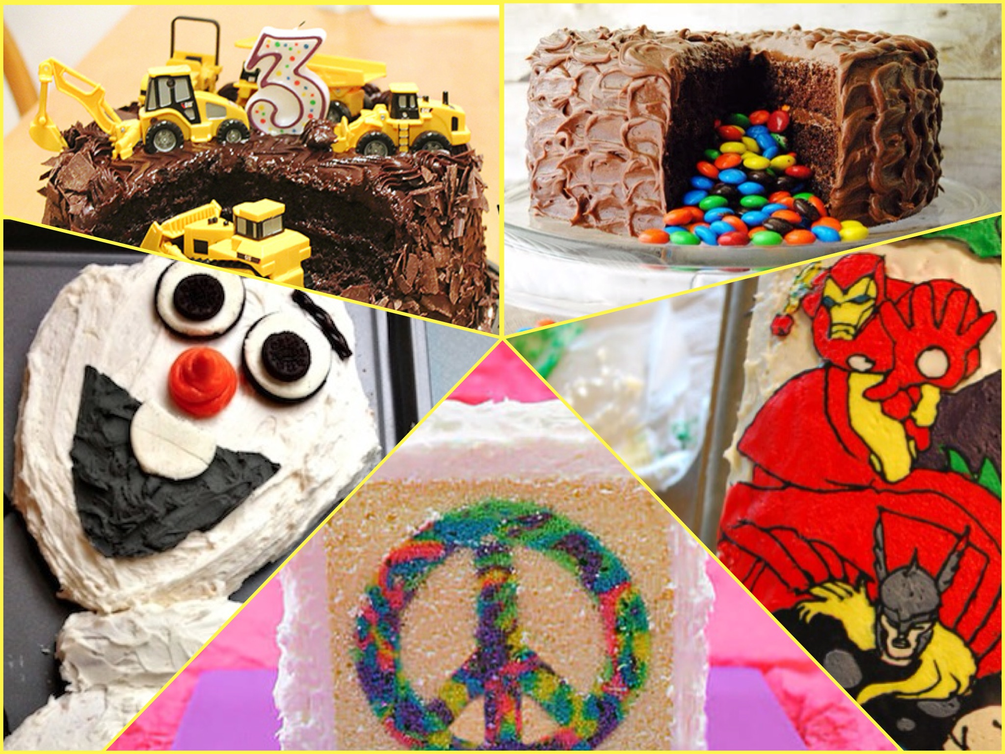 10 Easy Birthday Cake Ideas For Kids