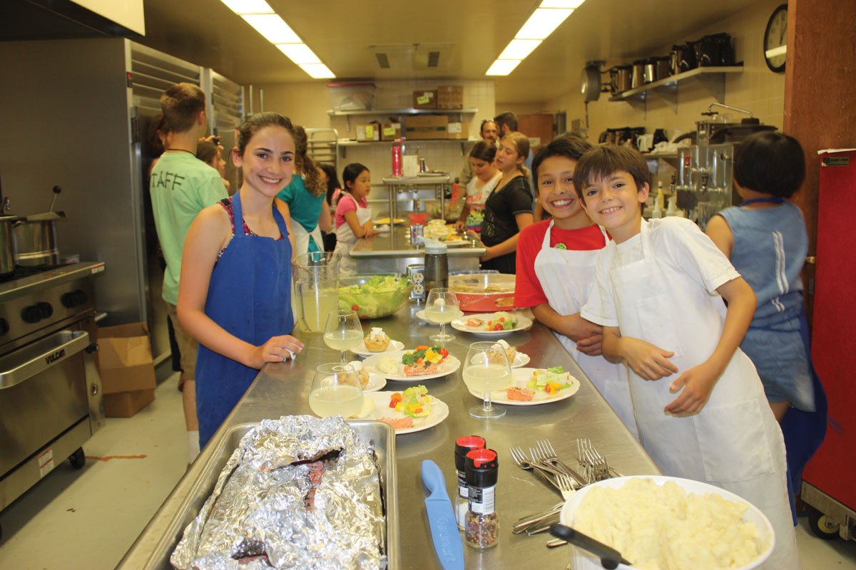 SJCC Cooking Farm to Table camp