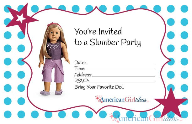 American Girl Themed Birthday Party Ideas Parentmap