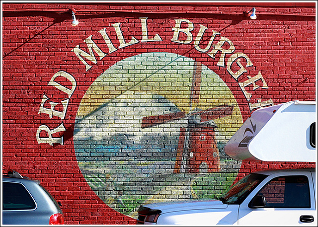 Red Mill Burgers. Photo credit: Vineet Verghese, flickr CC