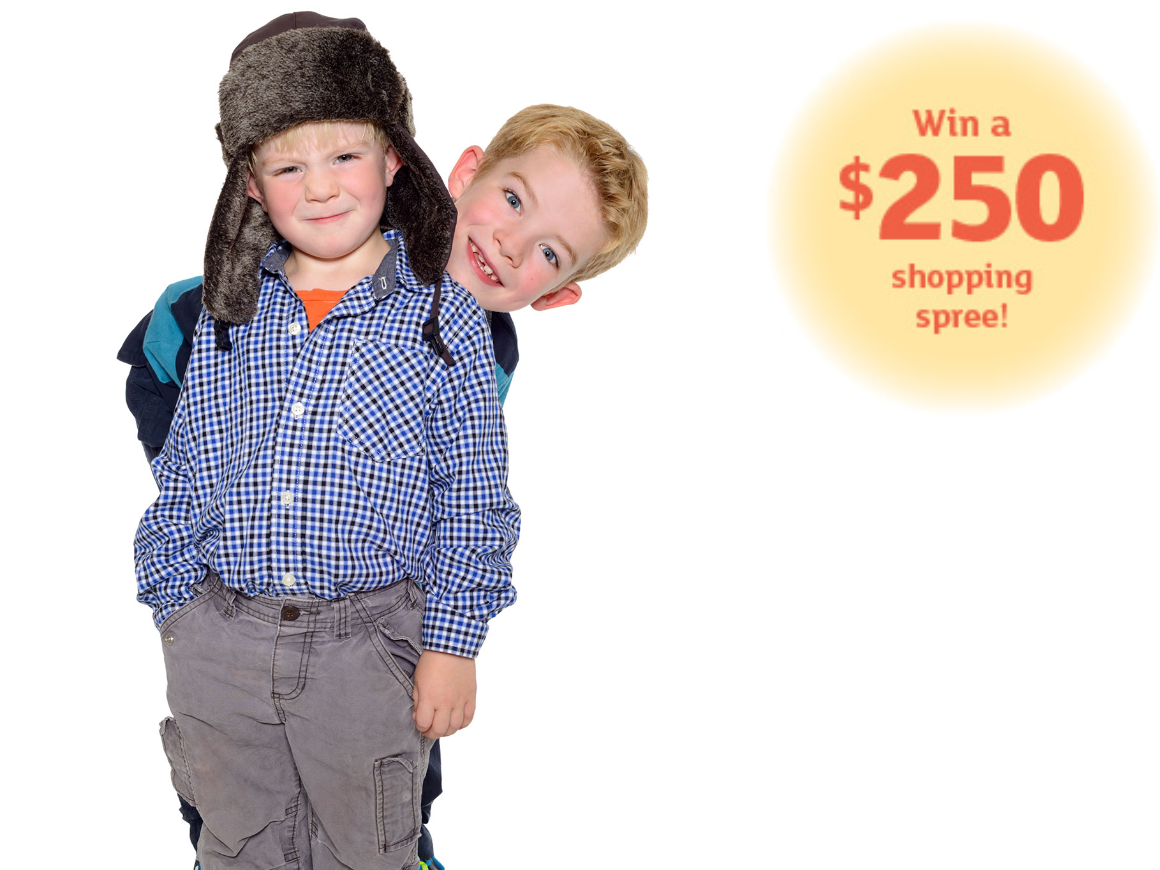 Click here to enter to win a  250 back-to-school shopping spree to Redmond  Town Center! 5ae3fe34afcc