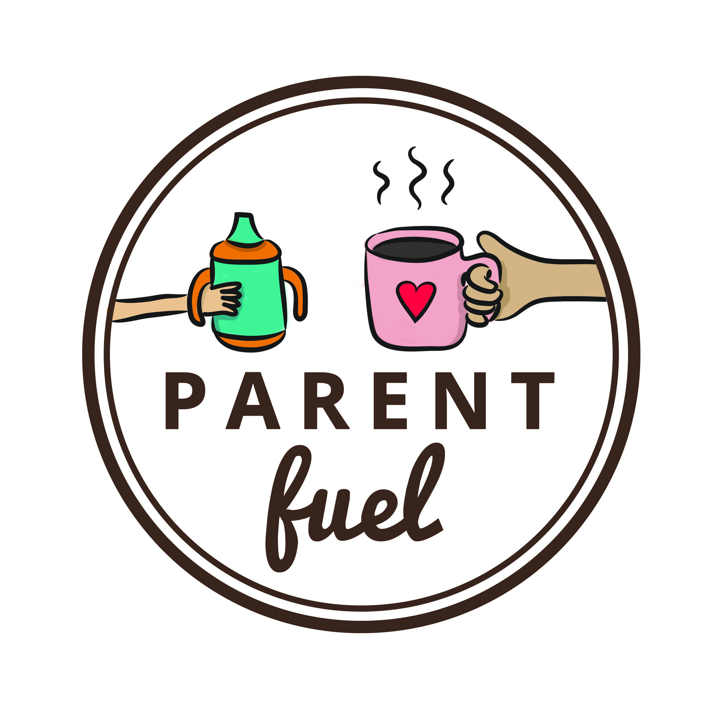 Parent Fuel logo by Hayley Wright