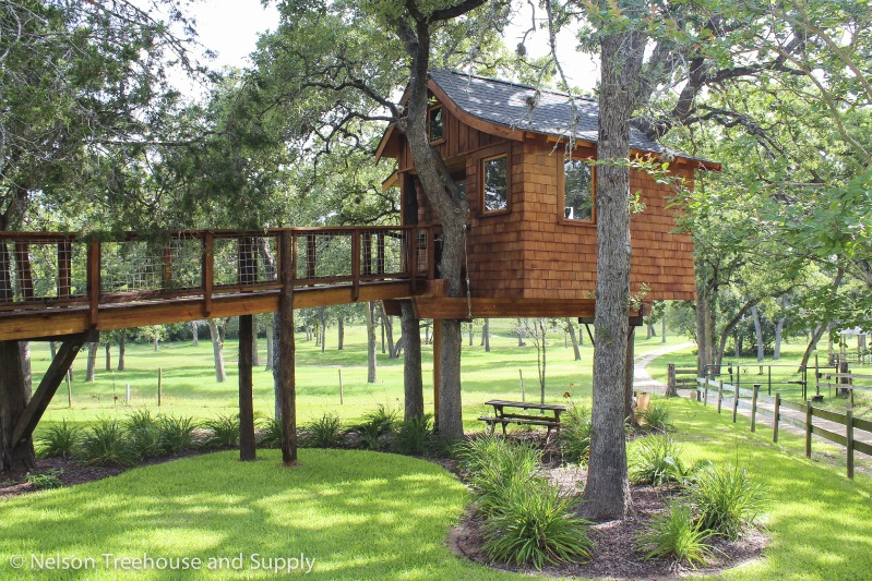 Free online tree house plans house design plans for Free treehouse plans and designs