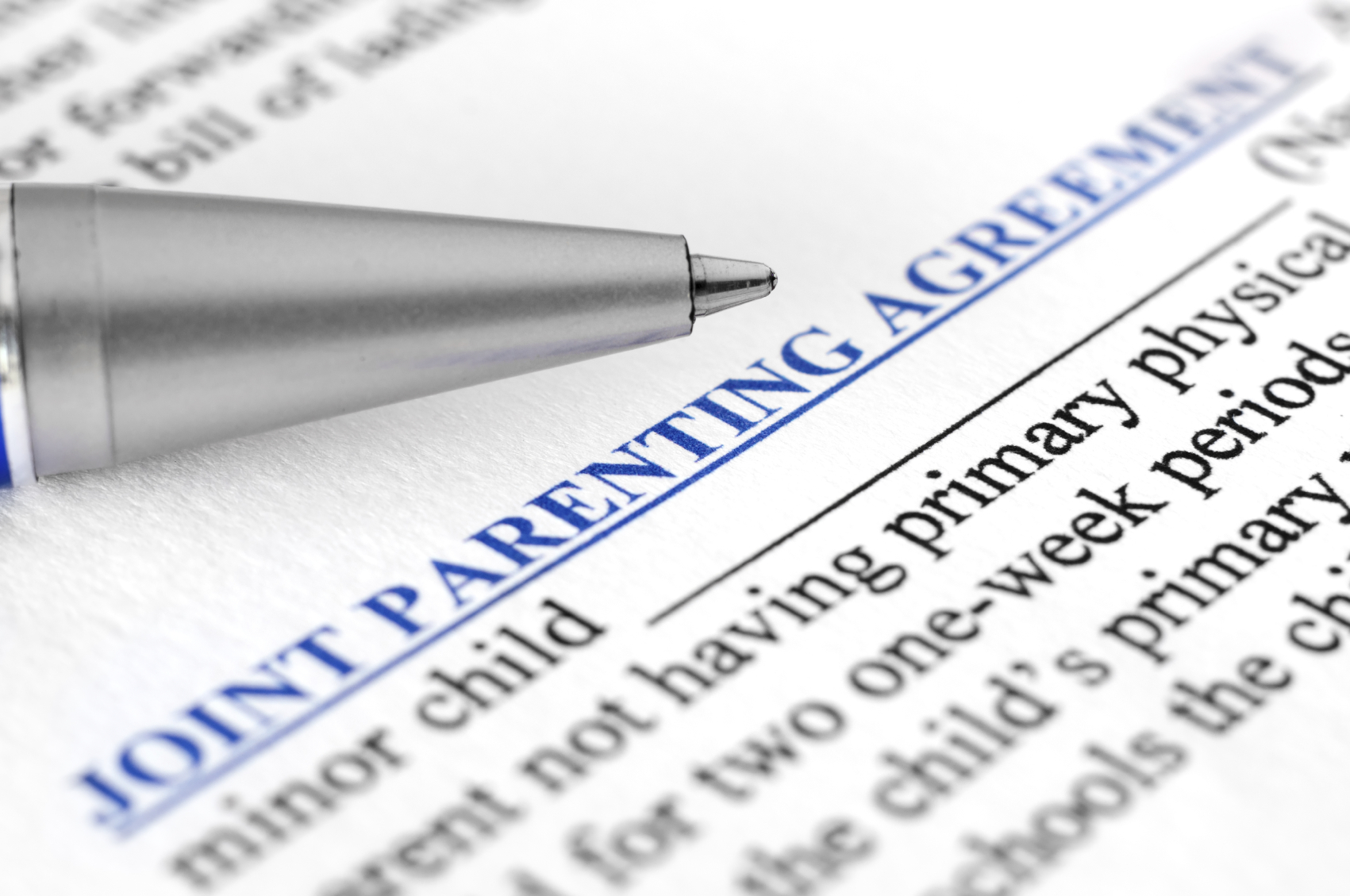 co-parenting agreement