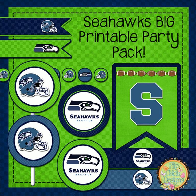 Go Hawks 7 Seahawks Football Birthday Party Ideas ParentMap
