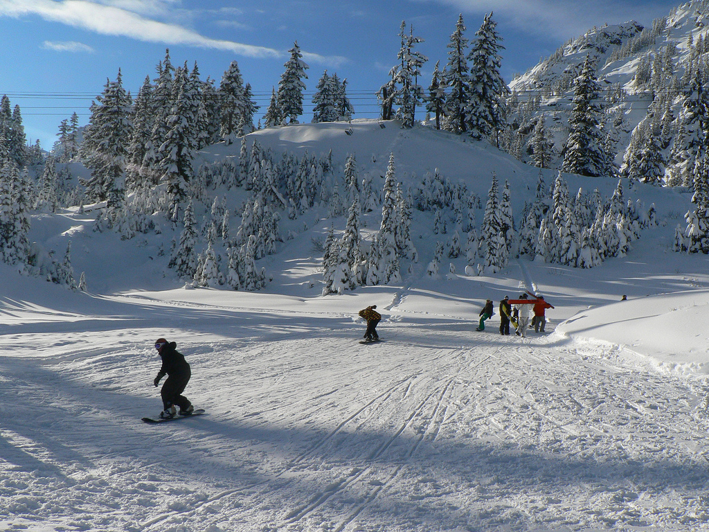 powder power: a deep-snow getaway to mt. baker ski area with kids