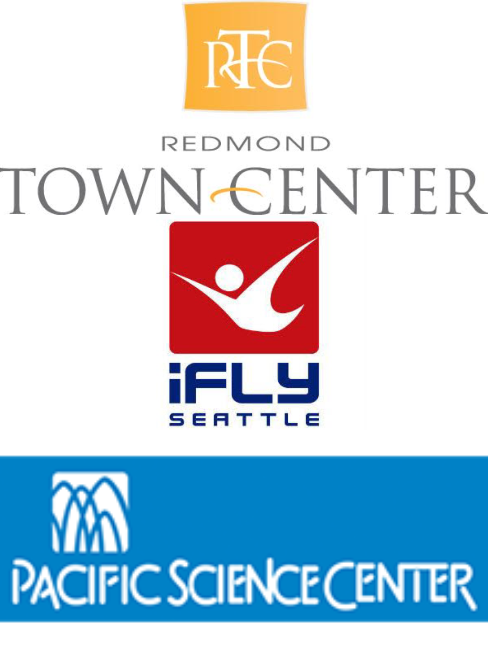 Prizes iFly, Pacific Science Center, Redmond Town Center Eggstravaganza