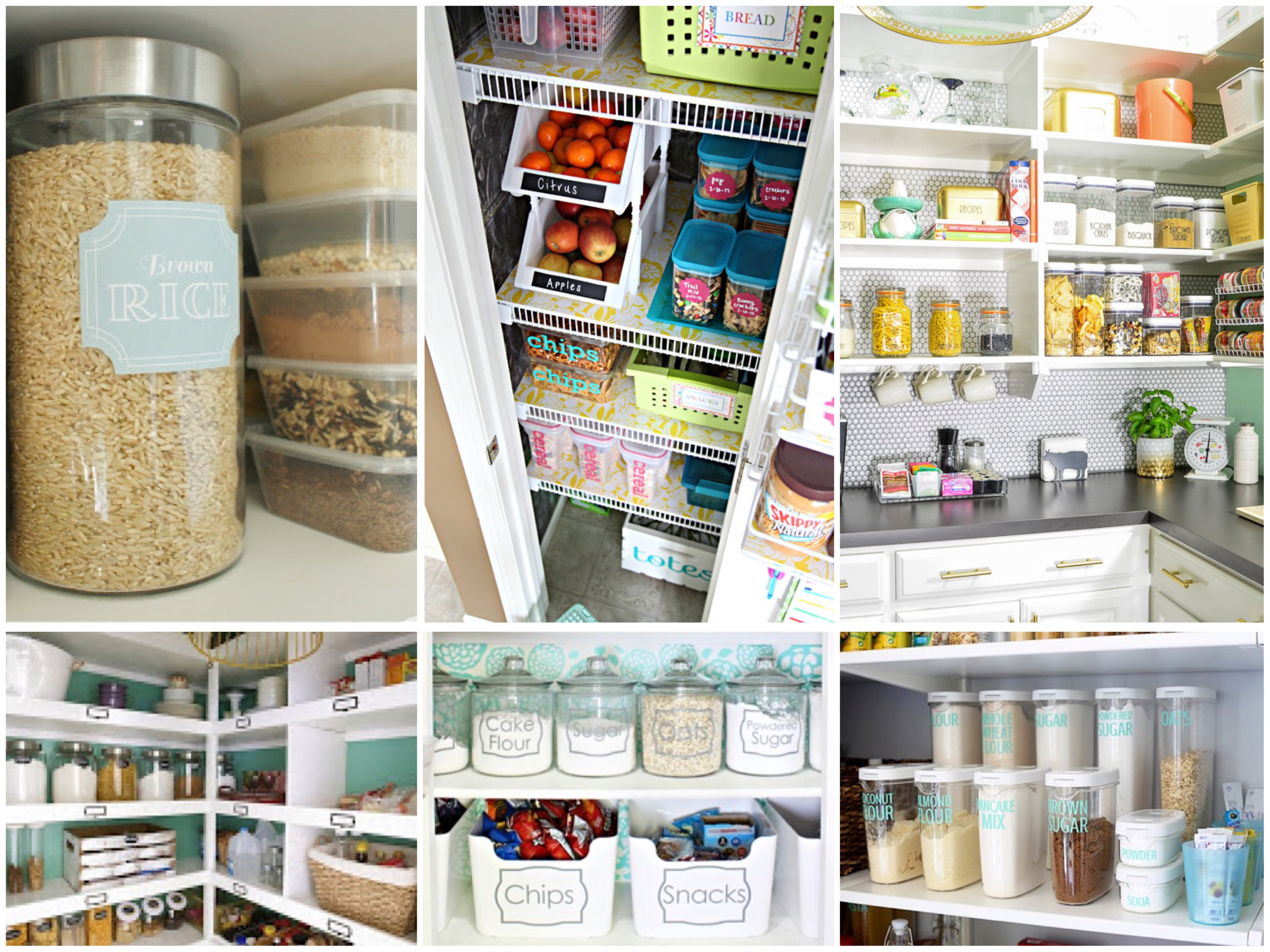 Having A Beautiful And Organized Pantry Can Make Meal Preparation So Much  Easier. No Longer Lose Cans Of Food In The Depths Of An Unorganized Pantry;  ...