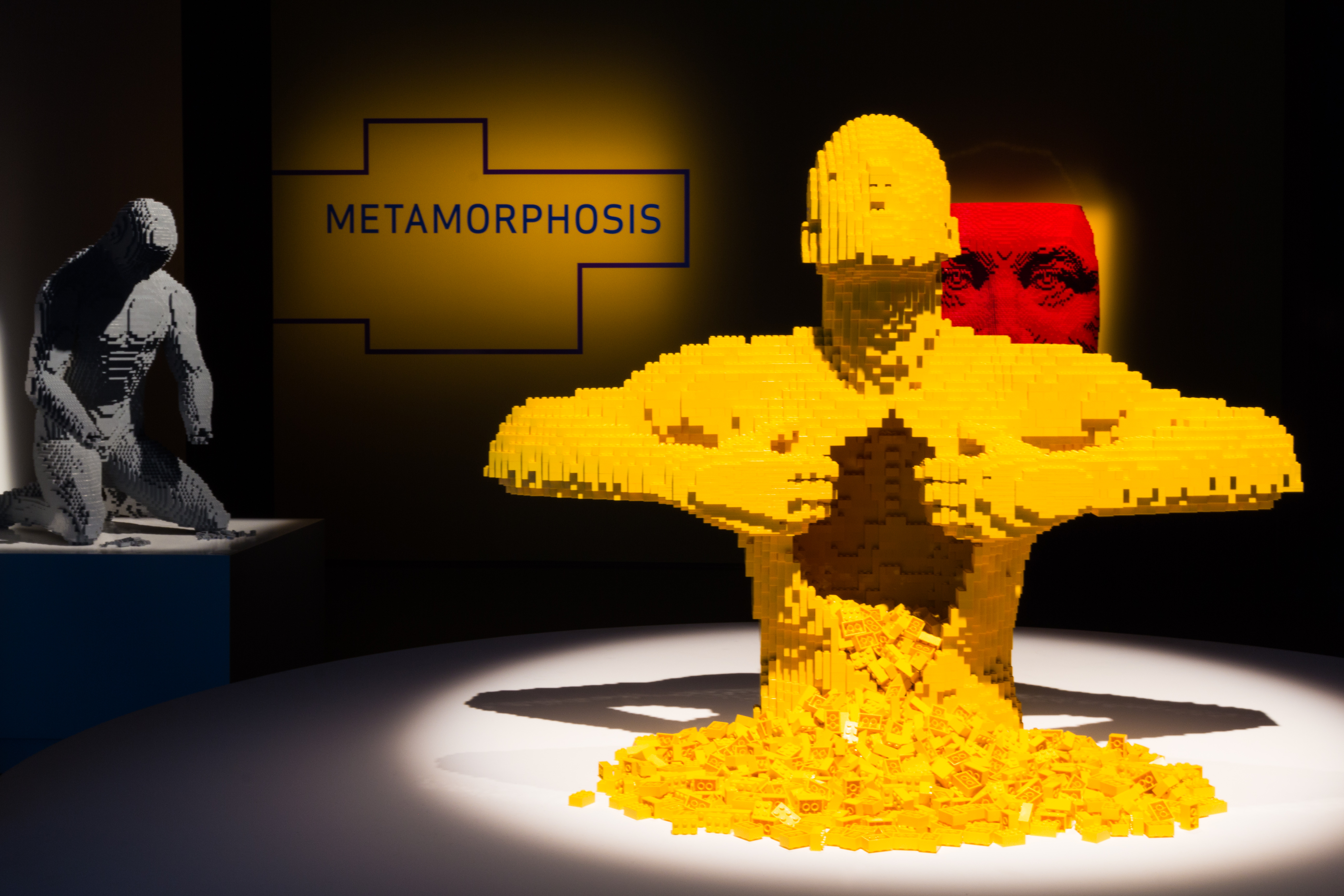 Courtesy 'The Art of the Brick,' at Pacific Science Center through Sept. 11