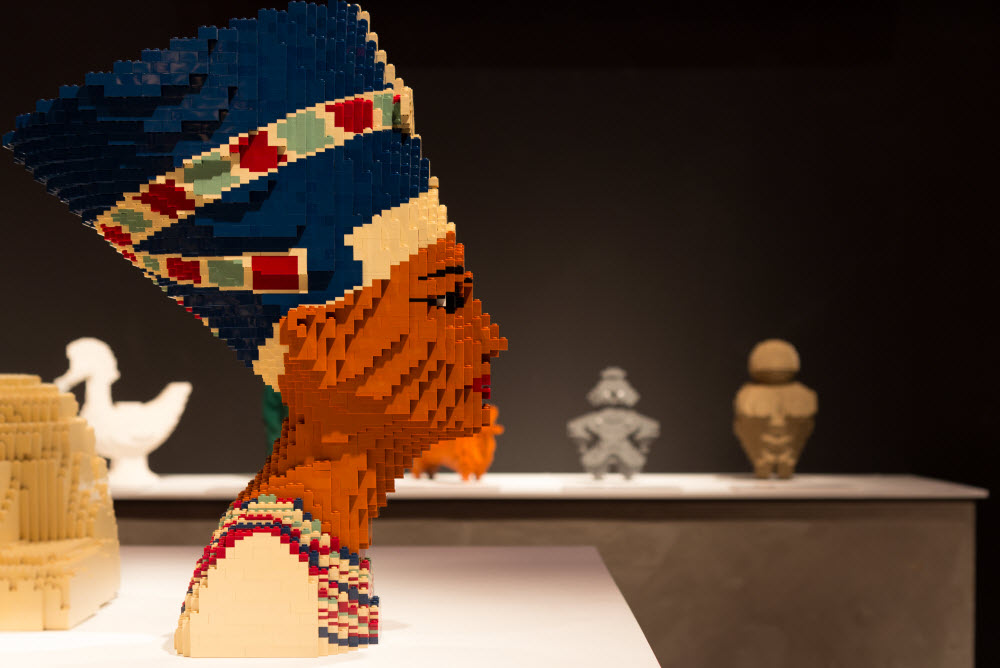 'The Art of the Brick at Pacific Science Center