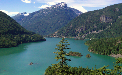 my scenic drives diablo lake