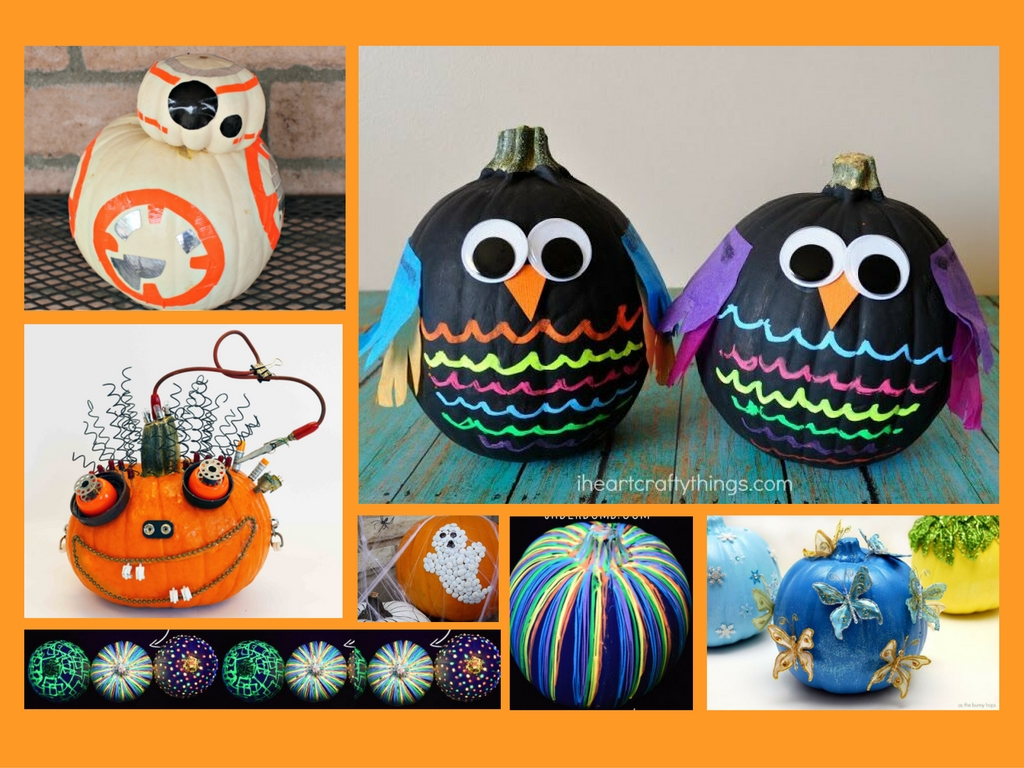 10 no-carve, no-mess pumpkin ideas for halloween | parentmap