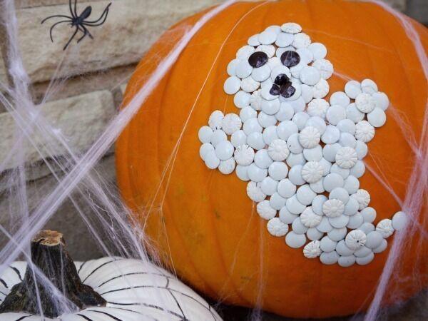 100 White Pumpkin Mummy Carving 40 Printable