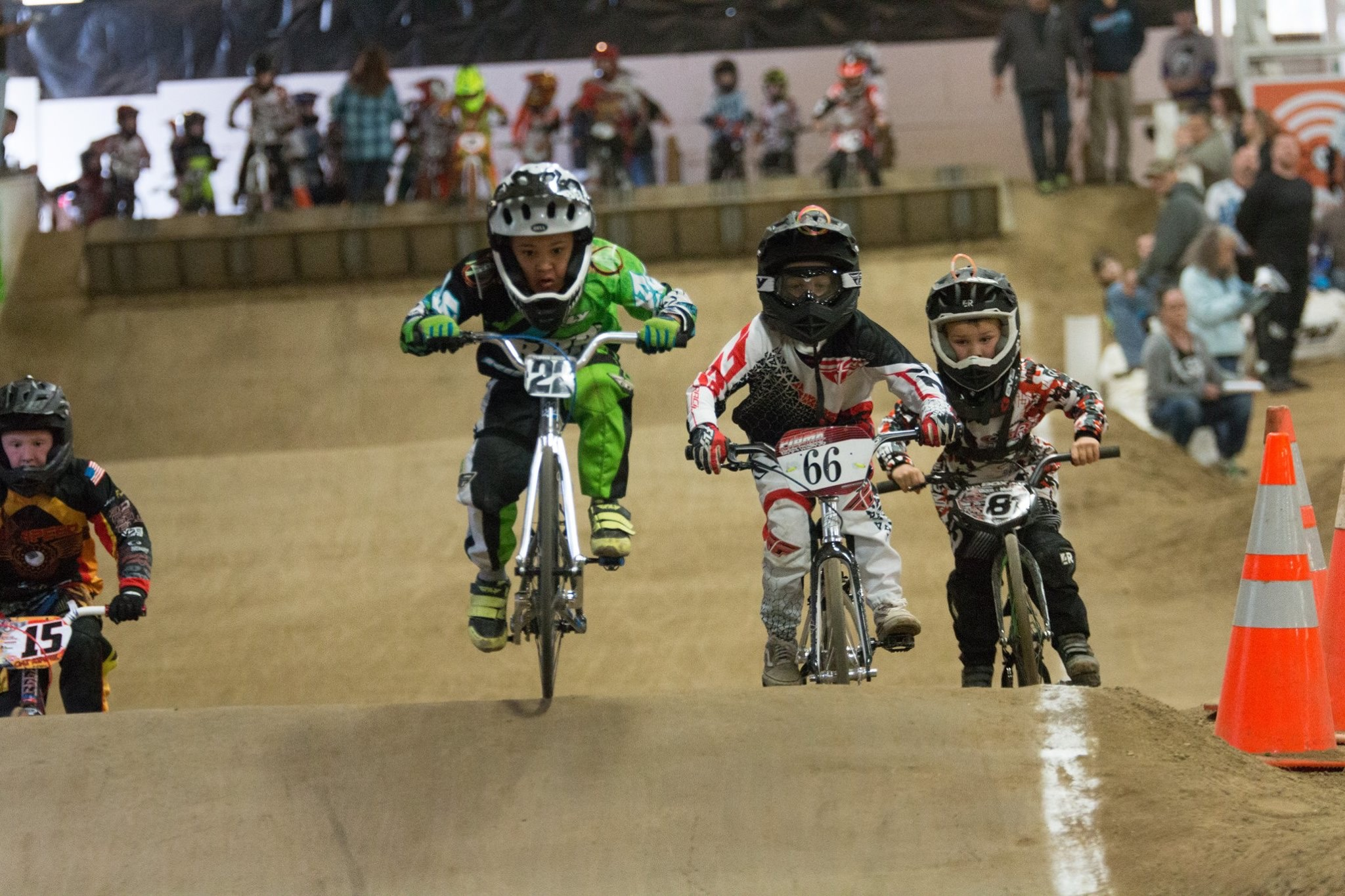 BMX bicycle racing