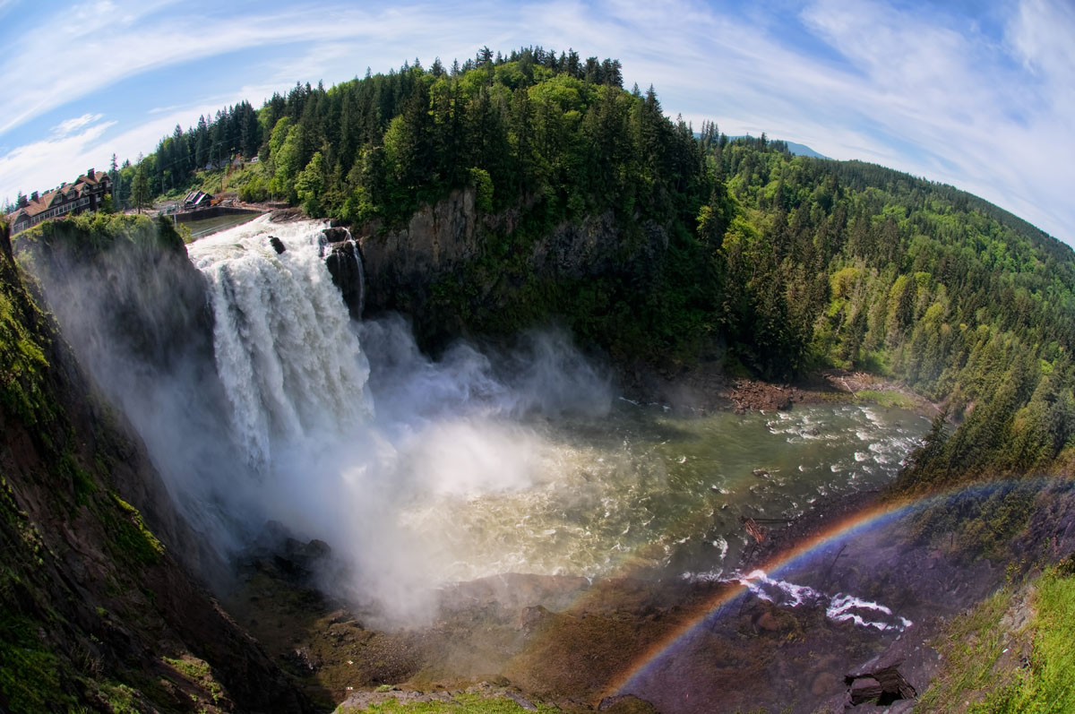 Snoqualmie Falls. Photo courtesy Shutter Tours