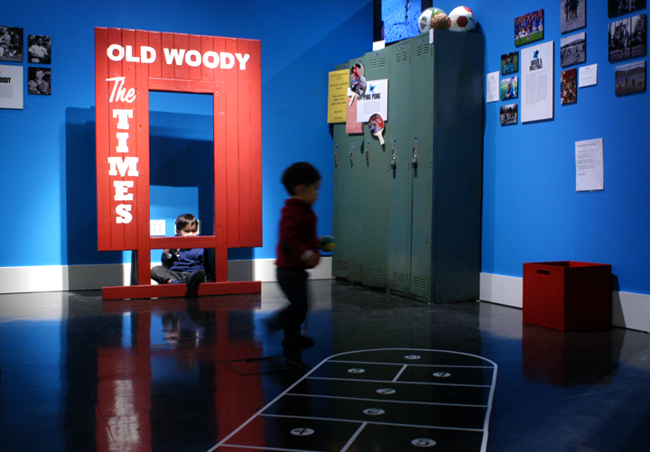 "2. A pitching game in the ""Who's Got Game?"" exhibit at the Wing Luke Museum of the Asian Pacific American Experience. Photo: JiaYing Grygiel"