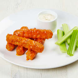 Veggie Grill Buffalo wings