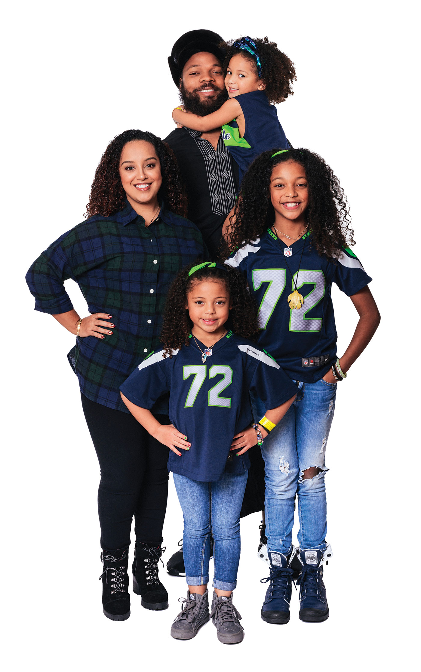 Seattle Seahawk Michael Bennett Talks Football Family and a